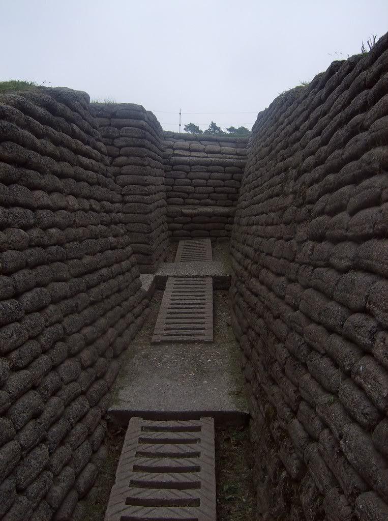 Looks like a trench hall way