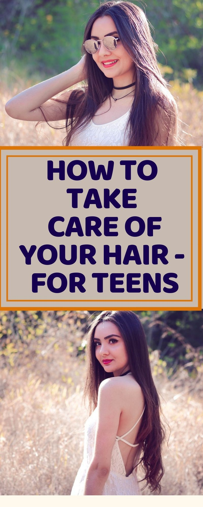 Hair Care Tips Every Teen Should Know #organichaircare