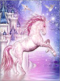 Dolphins DreamDesign - Rosa Zauber Einhorn