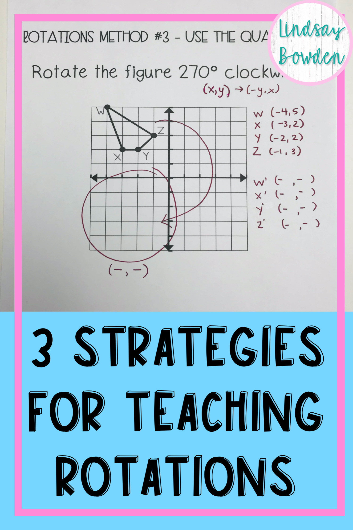 3 Ways To Rotate A Shape In