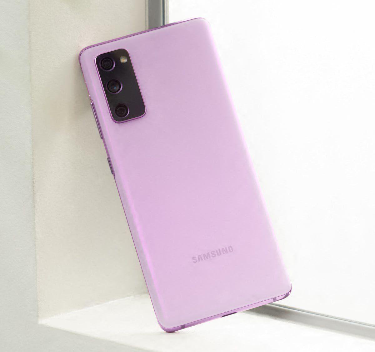 Samsung Galaxy S20 Fe Fan Edition Smartphone Has A Glimmering Haze Finish Samsung Galaxy Samsung Galaxy