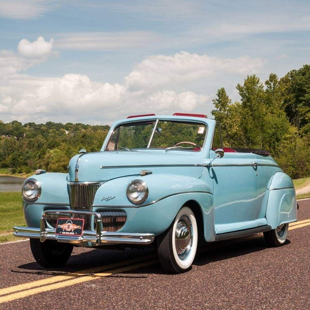 DROP TOP FRIDAY: 1941 Ford Super Deluxe Convertible Coupe