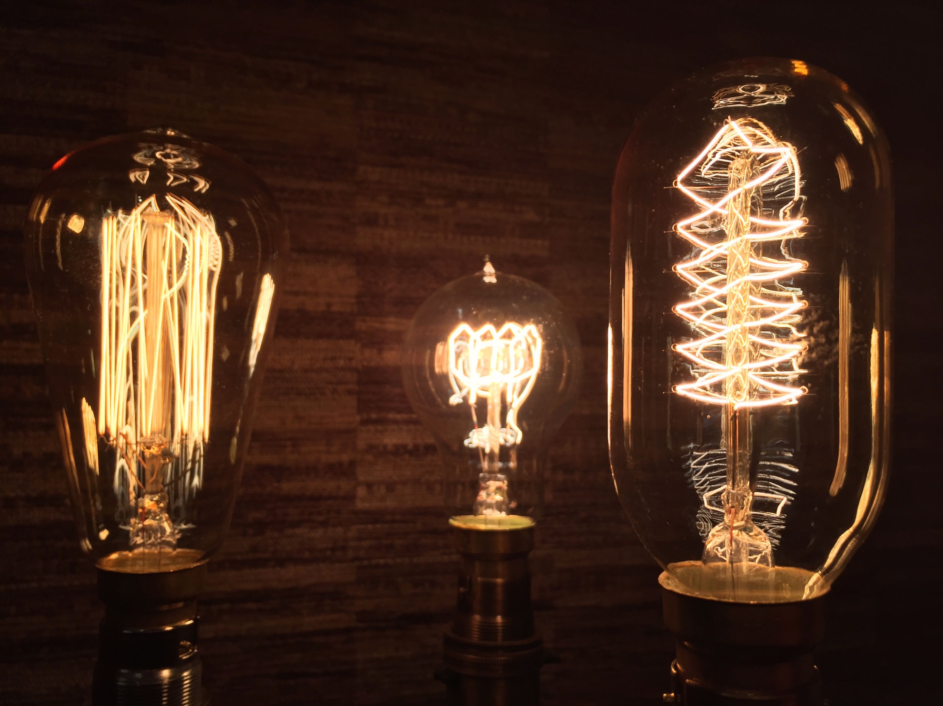 Edison Bulbs For Lamp Project! #Edison #bulb #filament #warm #glow