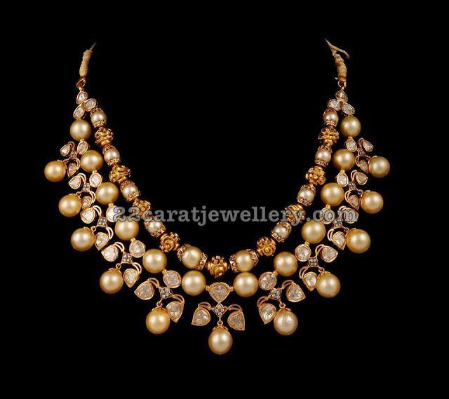 Top 9 Latest Designs By SRJ Fine Jewelry Necklace designs Indian
