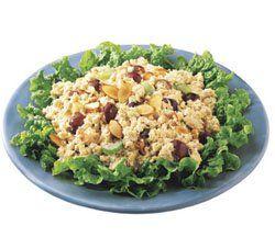 Mediterranean Salmon Salad   #chickenofthesea #salmon #salad #favorite