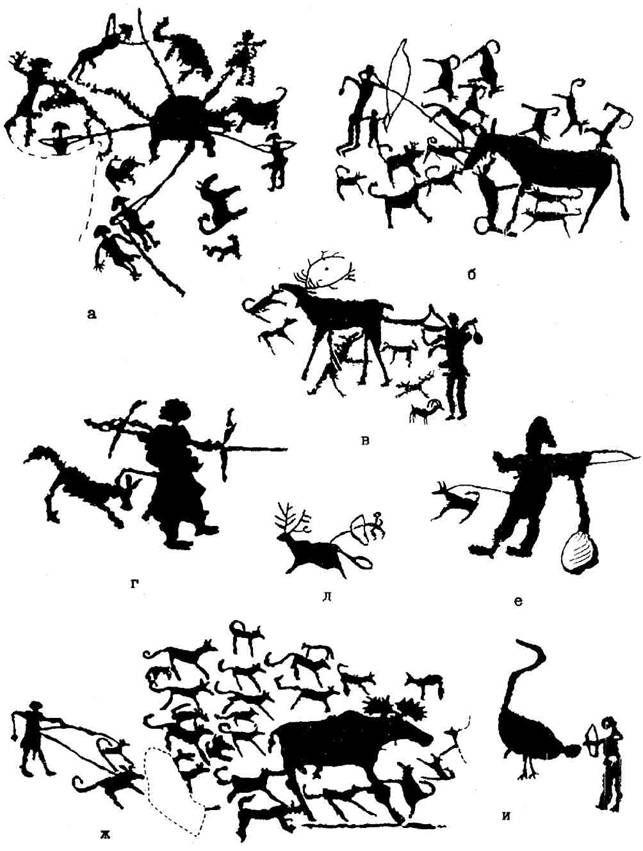 Наука  Этнография  Традиционные приемы и объекты охоты