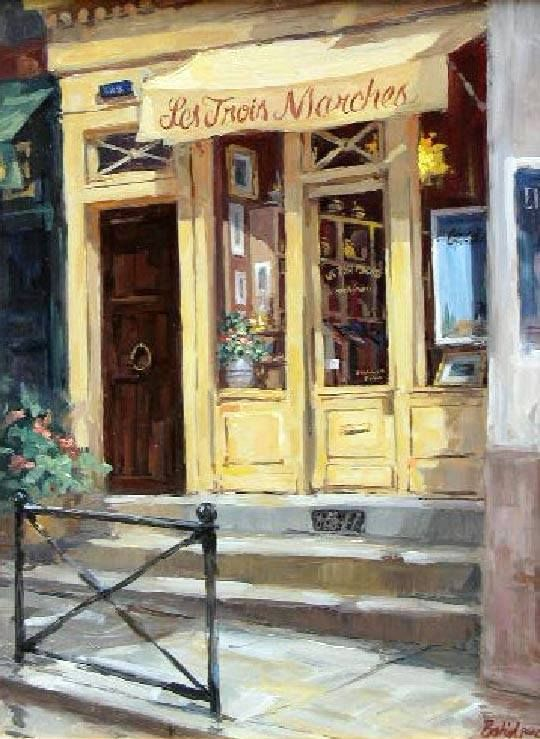 George Botich Pinturas Cuadros Pintura Fachadas