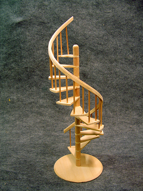 Perfect Miniature Spiral Staircase Available At Www.scalecreations1.com