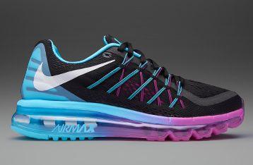 on sale 40503 f4058 Nike Womens Air Max 2015 - Black White Clearwater Fuchsia Flash - 698903-004