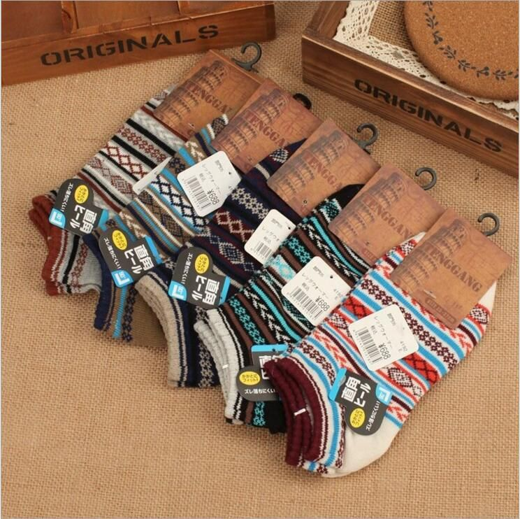 >> Click to Buy << Hotsale summer men socks low tube cotton thick line boat socks popular casual national style comfortable socks for adult male #Affiliate