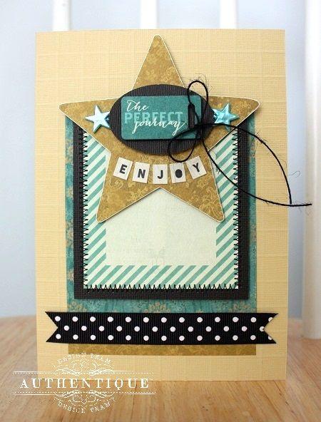 Authentique Paper: Cute Card Ideas with Authentique Paper & Scor-Pal