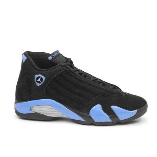 385b5220102f80 Air Jordan 14 (XIV) Retro Black University Blue Metallic Silver 311832-041   55
