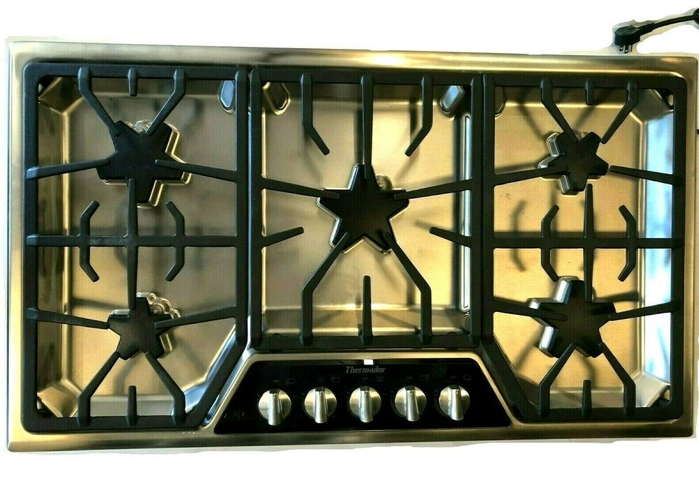 SGSX365FS 36 Masterpiece Gas Cooktop Stainless Thermador