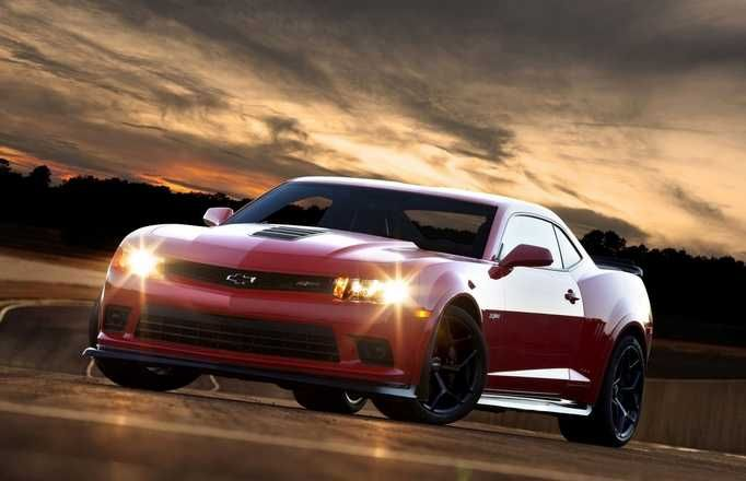 Legit Red Chevy Camaro Wallpaper With Custom Rims Chevrolet
