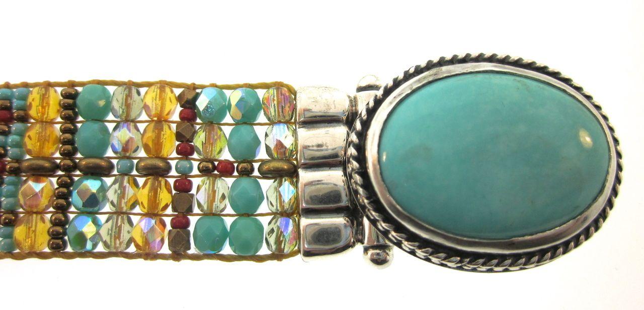 Chili Rose Aragon Turquiose Bracelet - icejewelry.com
