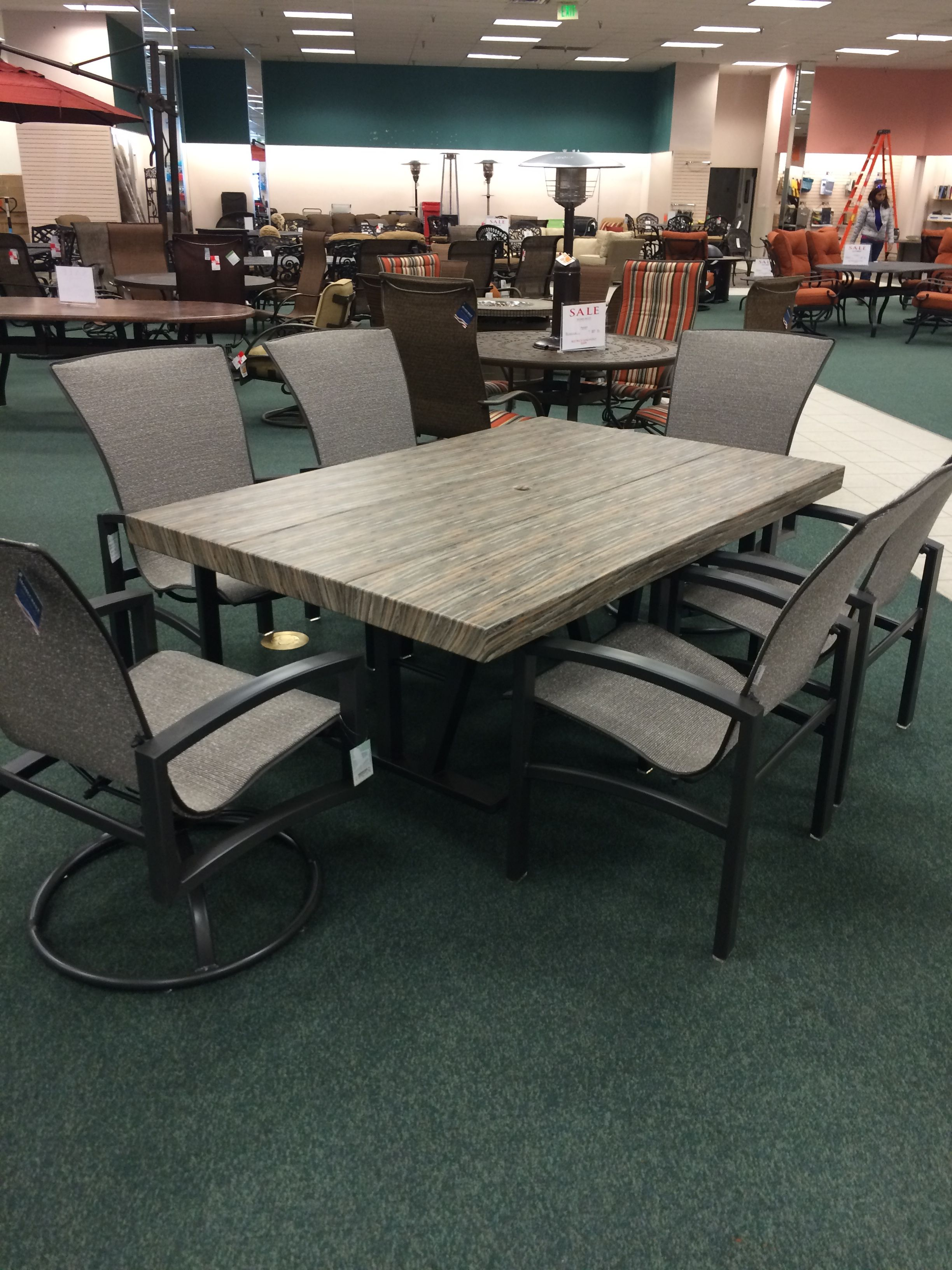Christy Sports Patio Furniture in Littleton CO is displaying our