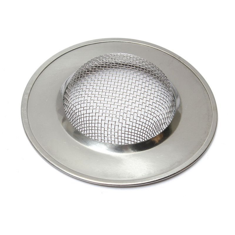 Superieur Brand New 1PC Stainless Silver Sink Strainer Food Mesh Trap Plug Hole Cover  Filter Sieve Kitchen Bathroom Products