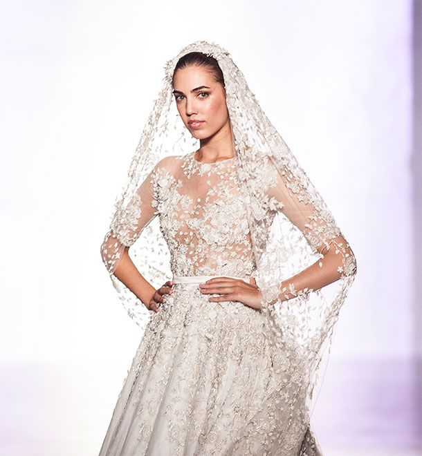 Ralph And Russo Wedding Dresses: Wedding Dress. Fashion In Motion: Ralph & Russo, October