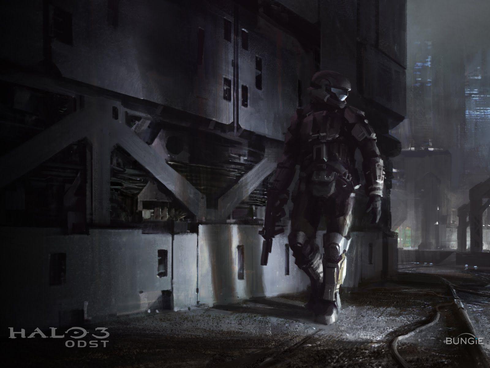 Halo Odst Odst Halo Arte Conceptual Video Juego