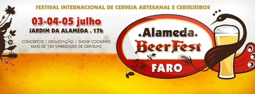 The Garden of Alameda João de Deus, in Faro, will host the 1st edition of Alameda Beer Fest - International Festival of Beer and Craft Brewers, between 3 and July 5, which will be known 23 producers and 140 types of international and domestic beer.  With free entrance from 5pm to 2am the event features a diverse program: workshops and labshops on beer, showcookings and tastings of Algarve cataplana and a unique practical course for beginners.  We drive you, just call (+351) 91 555 92 93