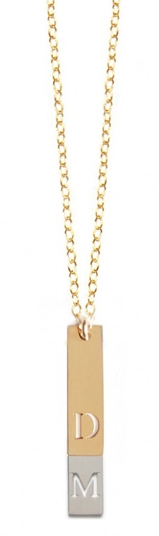 New #giveaway! Enter to #win an initial necklace! http://chant3llo.com/miriam-merendelf-multiple-vertical-initials-necklace-giveaway/