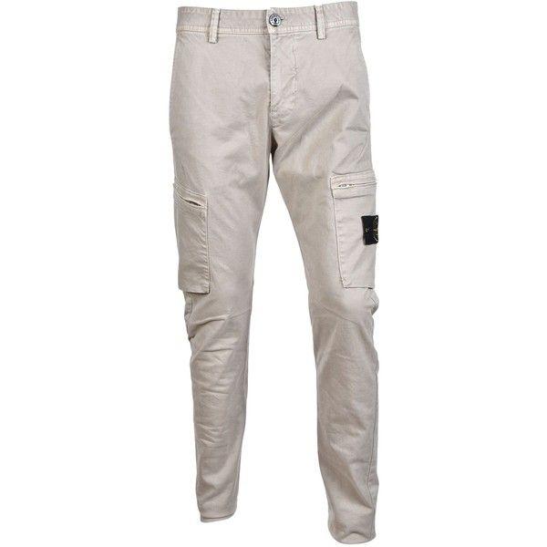 beauty on sale hot sale online Stone Island Zip Pocket Cargo Trousers ($200) ❤ liked on ...