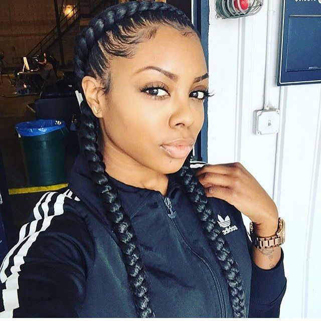 Stunningly Cute Ghana Braids Styles For 2018