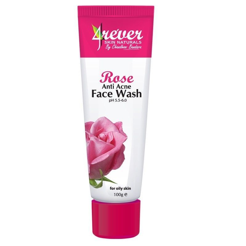 Just Listed 4ever Rose Anti Acne Face Wash 100g