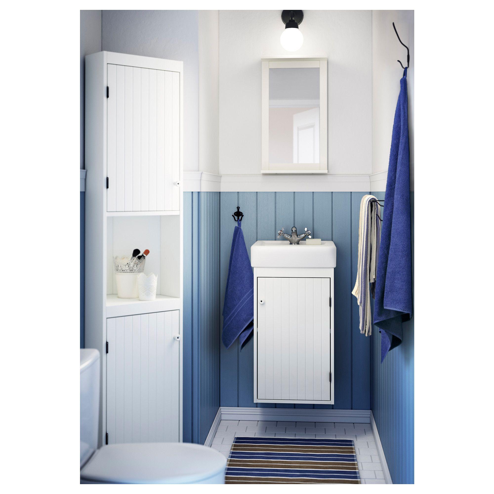 SILVERÅN / HAMNVIKEN Élément lavabo à 1 porte, blanc | Studio ...