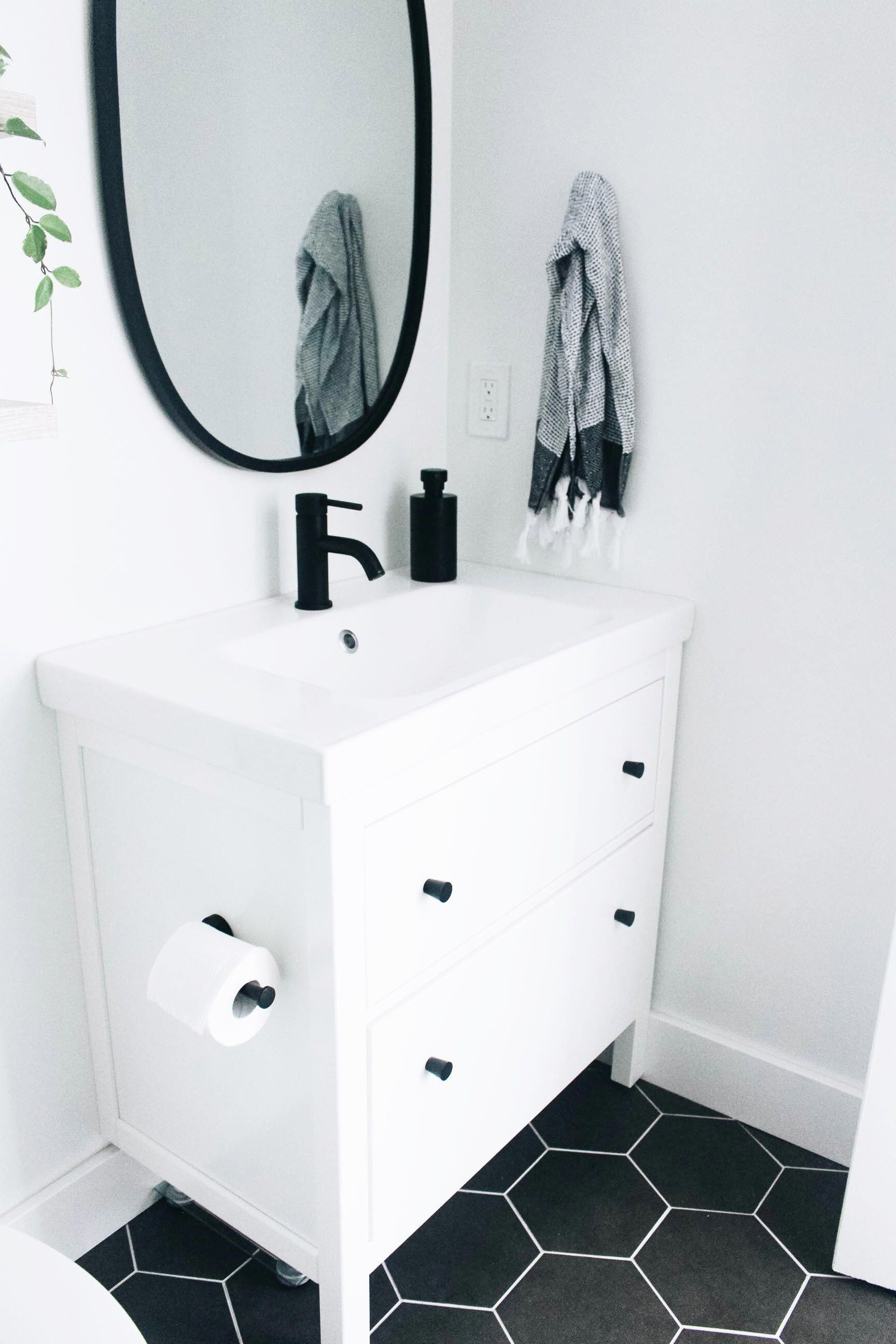 Photo of Our Master Bad Fixierer Upper | Simply well spent – Ikea Hemnes Vanity in Whit …