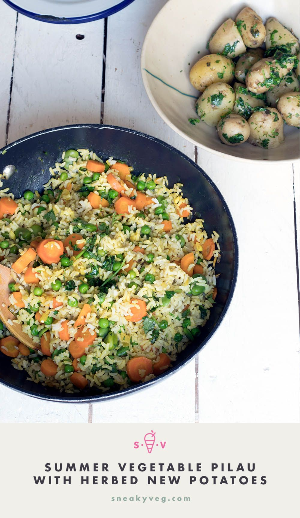Summer Vegetable Pilau
