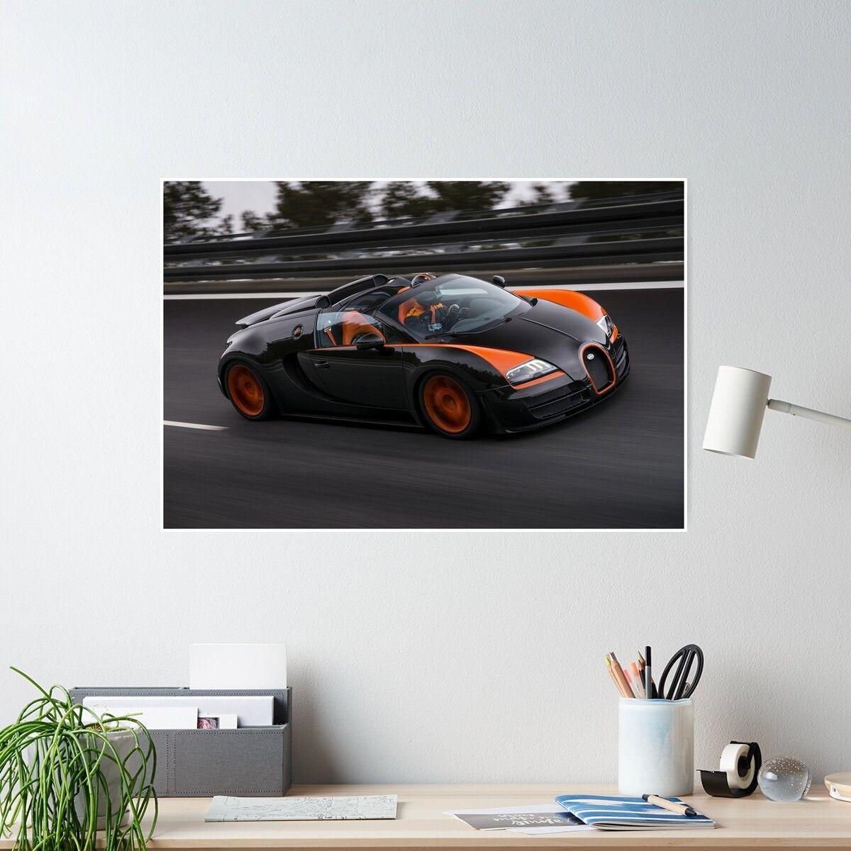 'Bugatti Veyron Vitesse WRC' Poster by victorli428
