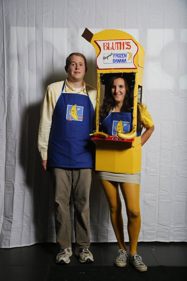 Bluthu0027s banana stand Halloween costume from Arrested Development. #diy # costume #arresteddevelopment  sc 1 st  Pinterest & Thereu0027s alway money in the banana stand | Pinterest | Diy costumes ...