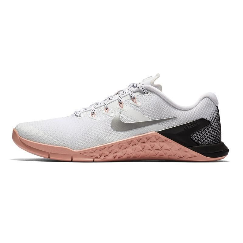 factory authentic 9b73a fb749 Women s Nike Metcon 4, women, nike, metcon, metcon 4, new, crossfit, shoe,  pink, silver, white, black, color, colorway