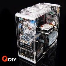 Qdiy Professional Modder Acrylic Case Pc A006 Pc Cases Diy