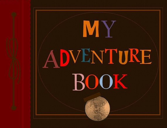 Our Adventure Book Cover Printable : Adorable printable my adventure book from up cheap and