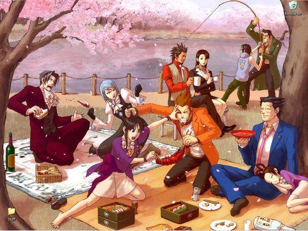 Phoenix Wright Wallpaper By Mare Serenitatis Phoenix Wright Anime Ace