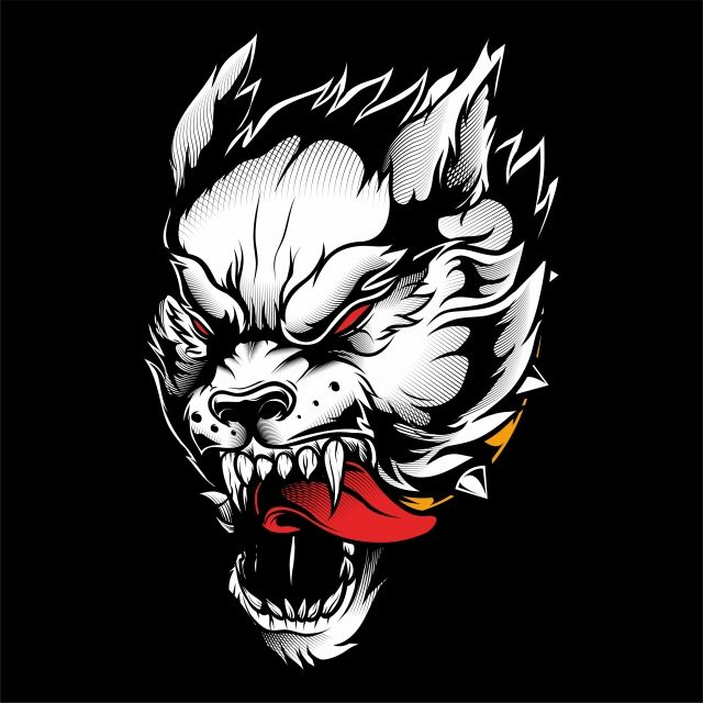 Wolf Vector Hand Drawing Wolves Animals Illustrations Png And Vector With Transparent Background For Free Download Gambar Serigala Seni Kuno Ilustrasi Vektor