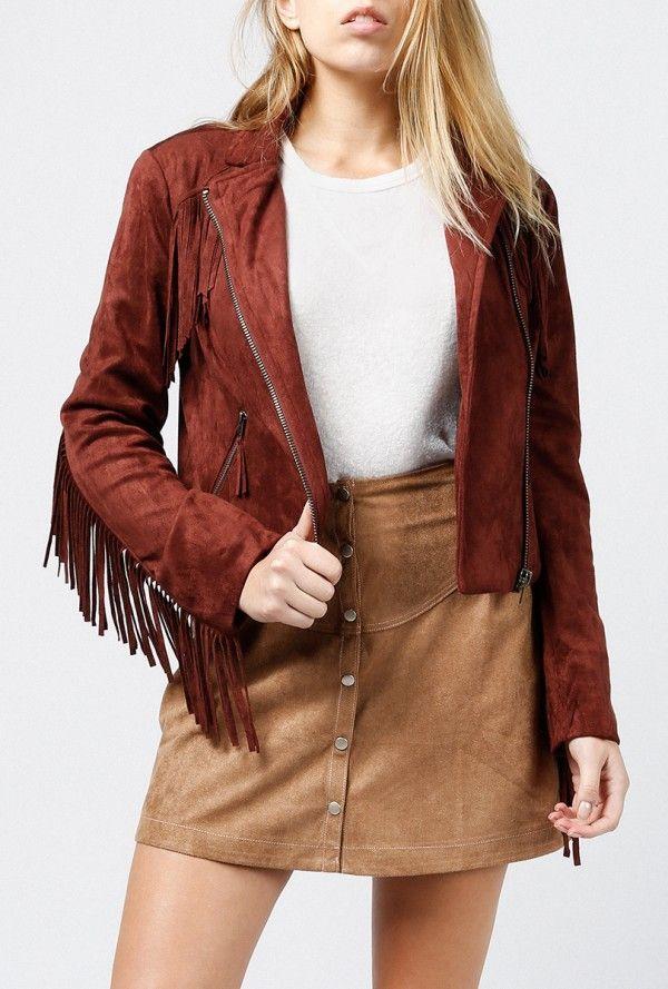 Azalea - Brian Fringe Jacket