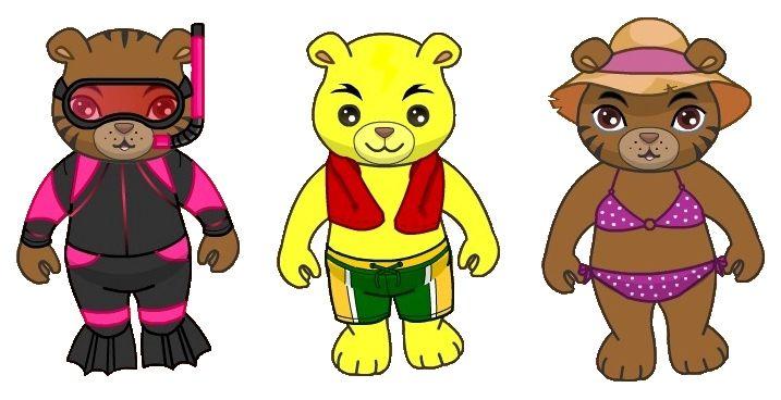 "Der Sommer naht im kostenlosen Browsergame ""Dreambear Saga"". Wie wäre es mit einem passenden Outfit für euren Bären? http://game.dreambearsaga.com/#referrer=0bne6t2kyrfjs89m=pinterest=de_DE     The summer is coming to the free browser game Dreambear Saga soon. Get an appropriate outfit for your bear!"