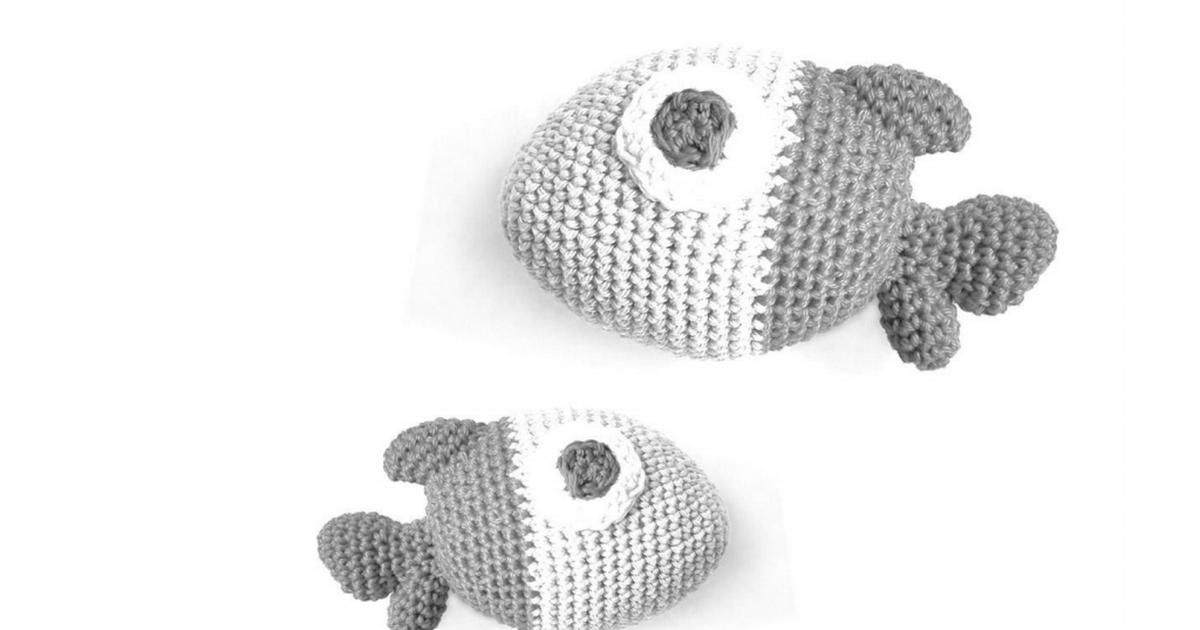 Chubby The Fish (esp).pdf | ganxillo | Pinterest | Crochet en ...