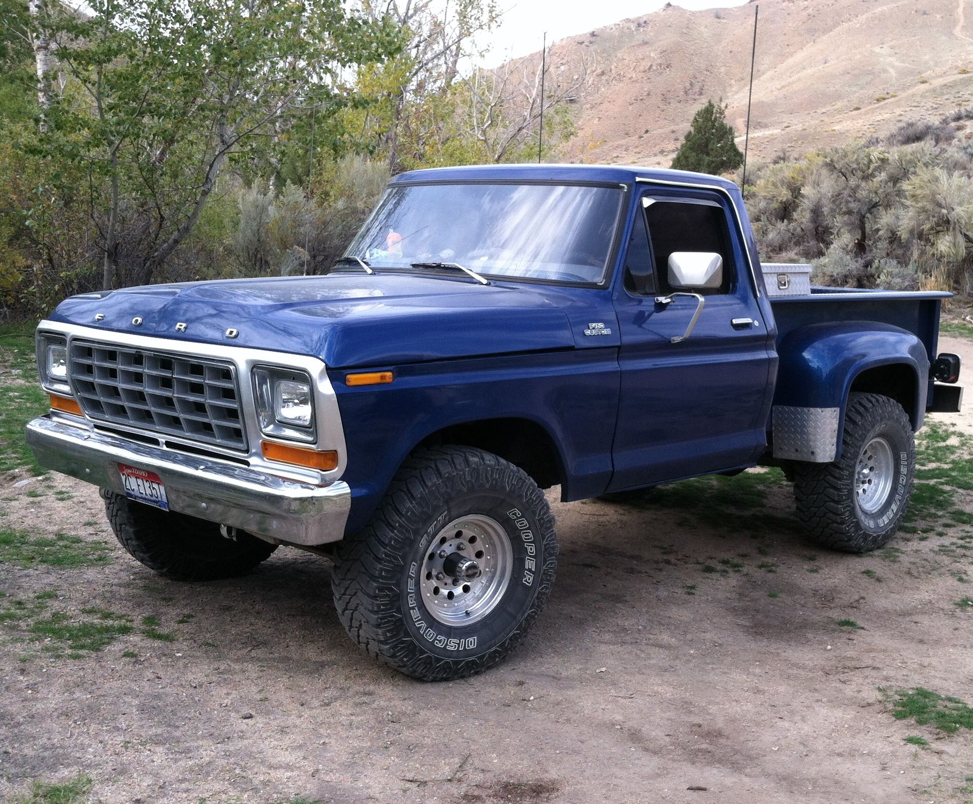 1979 ford stepside the material which i can produce is suitable for different flat objects