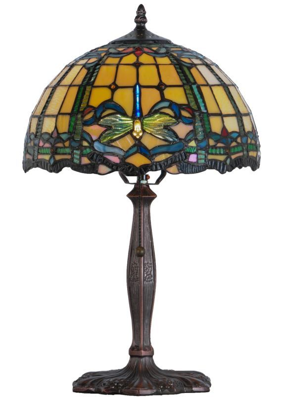 Meyda Tiffany 138586 Table Lamp Tiffany Table Lamps Glass