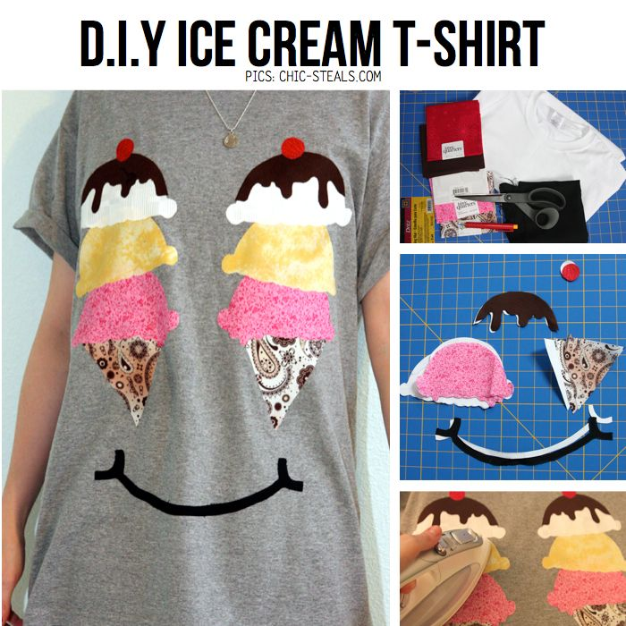 Diy ice cream t shirt for a guest of honor or host with a sense of diy ice cream t shirt for a guest of honor or host with a sense solutioingenieria Images