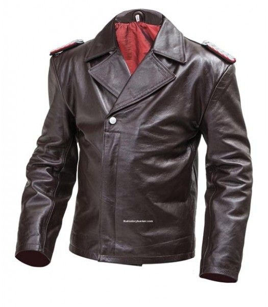 2d7e8aed4 WW2 German U Boat jacket (Panzer wrap style) BROWN | Haine | Leather ...