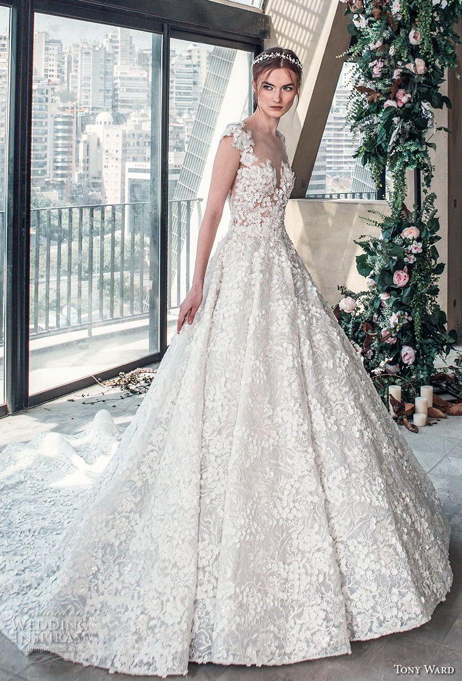 Tony Ward La Mariée Spring Wedding Dresses u ucRoman Romance