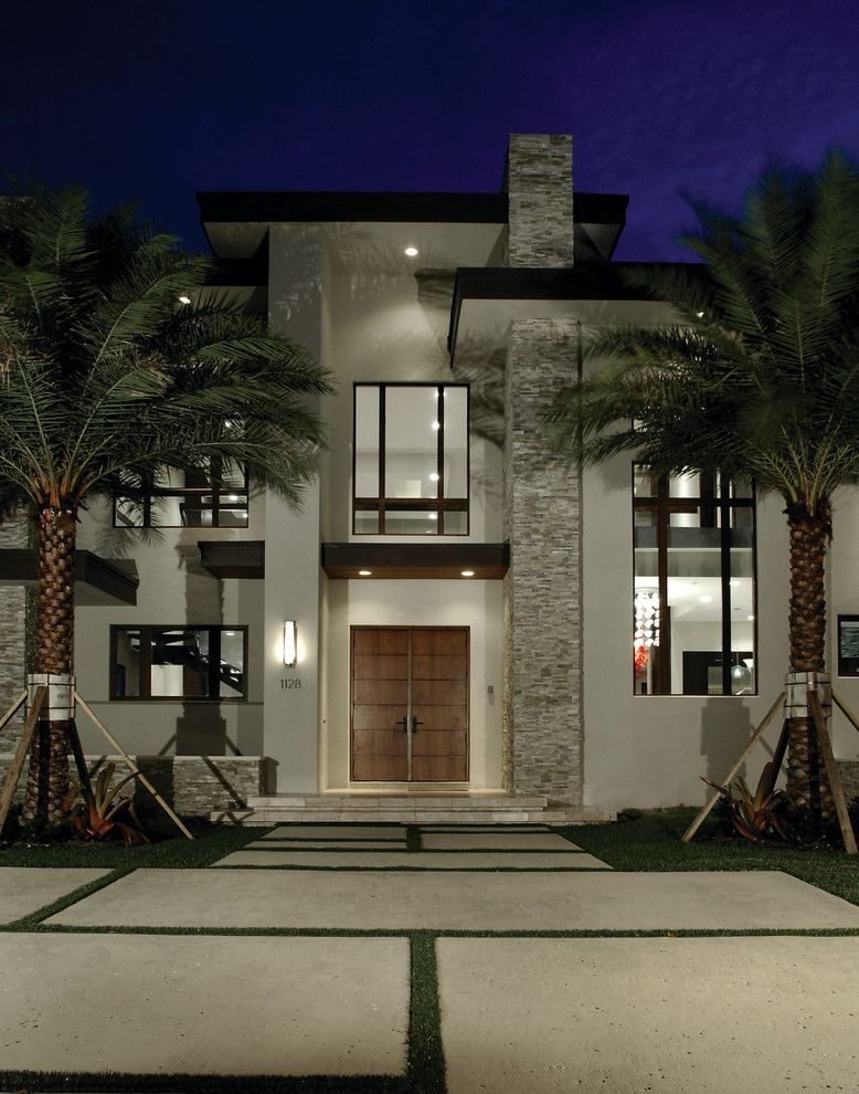 25 Stunning Modern Exterior Design Ideas With Images: 15 Ville Moderne Di Lusso Dal Design Contemporaneo