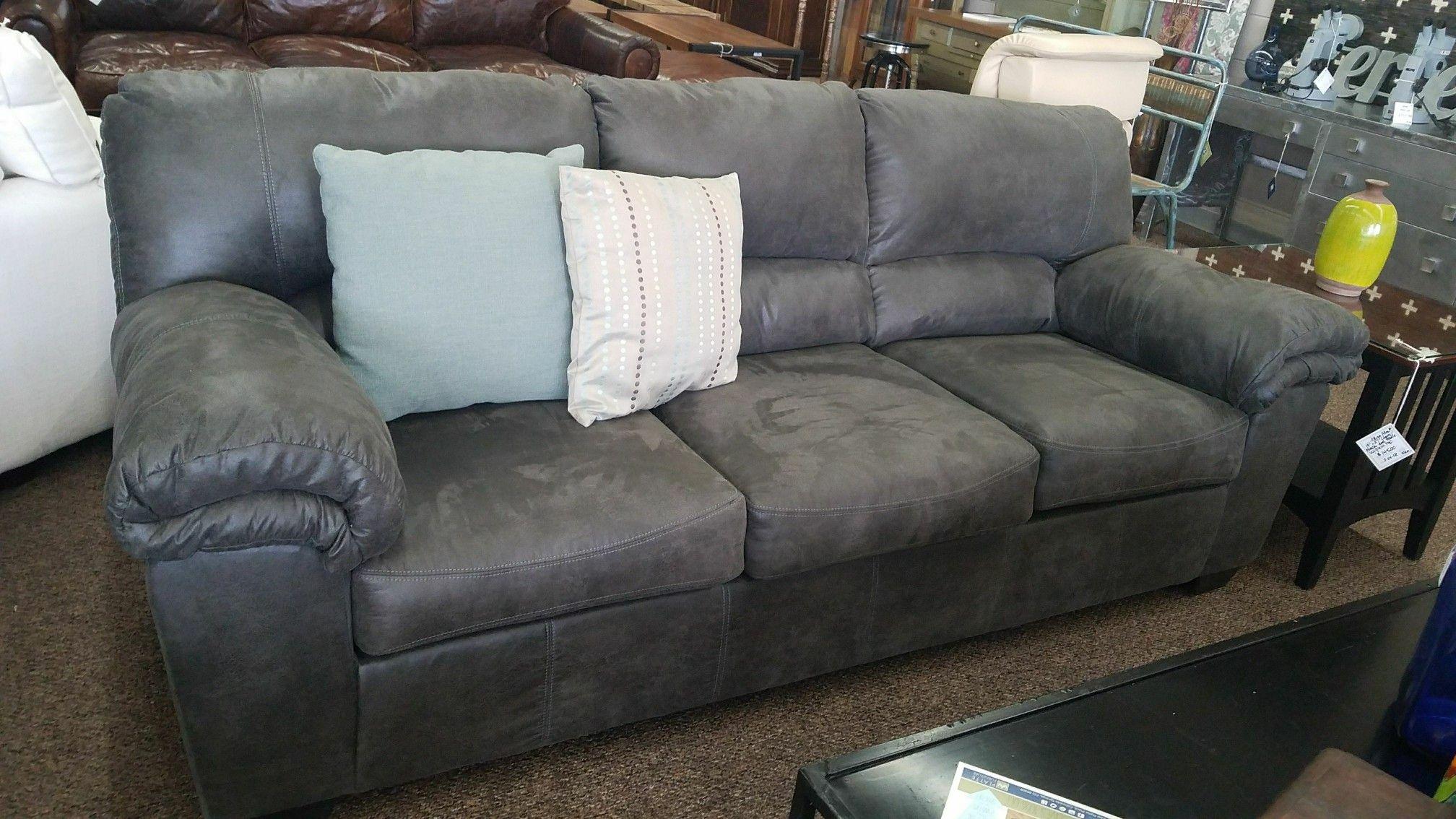 Modern Gray Polyester Fiber Sofa