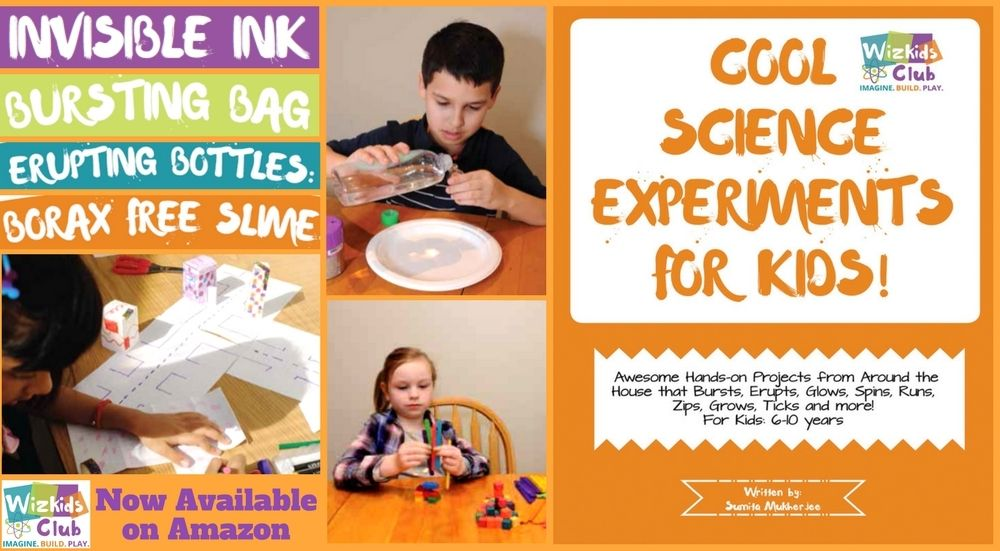 Cool science experiments for kids book plus amazon gift