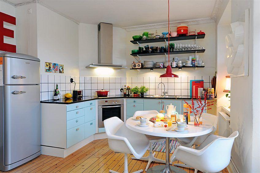 decoracion-de-cocinas-pequenas2 … | Cocina | Pinterest | Decoración ...